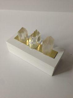 Rock Candy White Quartz Box