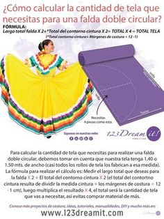 123 Dream it! Sewing Hacks, Sewing Tutorials, Sewing Projects, Clothing Patterns, Dress Patterns, Sewing Patterns, Techniques Couture, Sewing Techniques, Folklorico Dresses