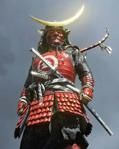 Video Game Art, Video Games, Character Inspiration, Character Design, Alina Zagitova, Ghost Of Tsushima, Samurai Armor, Red Sun, Japanese Culture