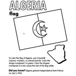 Coloring sheets for different country/state flags.