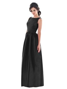 Perfect Little (and Long) Black Bridesmaids Dresses