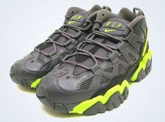 bf72b9ce2ac Nike Air Slant Mid - Dark Grey - Volt Fresh Kicks