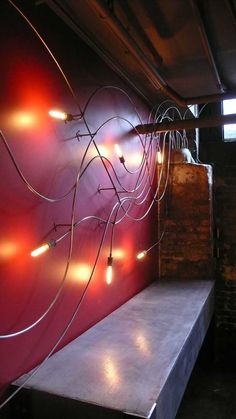 wall light designed by Stroudfoot