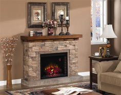 GRAND CANYON media entertainment Electric Fireplace Firebox- 28WM0913-S250 by ClassicFlame