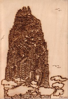 "Bild zum Text der Novelle: ""Babel - vergiß es!"" New Books, Thoughts"