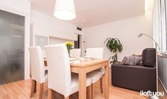 #proyectoserraiarola #iloftyou #interiordesign #ikea #barcelona #lowcost #livingroom #diningroom #bjursta #jara #henriksdal #besta