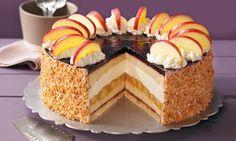 Holunder-Apfel-Torte mit Schmand Rezept | Dr. Oetker
