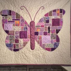 Quilt Vine: Caroline the Butterfly