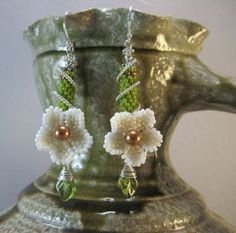 Flowers and Beaded Tubes
