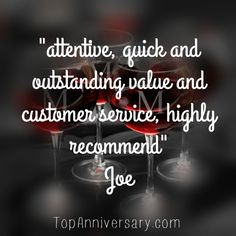 review of our personalized Anniversary Gifts service