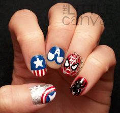 Spider-Man captain America nails