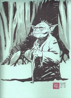Yoda by Tyler Crook