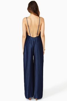 Rhapsody Chambray Jumpsuit