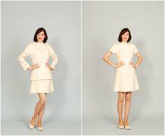 Vintage 1960s Dress  60s MOD Dress  Winter by concettascloset, $152.00