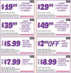 photograph regarding Claires Coupon Printable identified as 72 Excellent Chuck E Cheese Printable Discount codes, Cost-free Tokens pictures