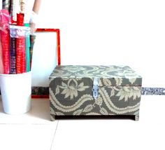 Wallpapered trunk