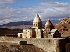 Armenians | The seventh-century Armenian church of St. Thaddeus in Azerbaijan ...
