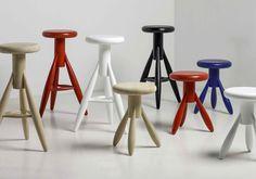Rocket stool - ARTEK - New colors Blue and Red