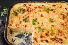 Potato and celeriac bake