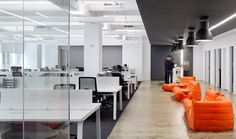 VOX Medias New York City Offices Workfloor & Breakout