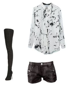 """""""Untitled #4"""" by prettysage on Polyvore featuring IRO and Maison Margiela"""
