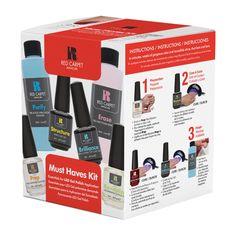 Το Must Have Kit περιέχει μία ολοκληρωμένη σειρά με τα απαραίτητα αναλώσιμα προϊόντα για το ημιμόνιμο βάψιμο.     Τιμή 39,50€