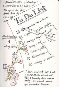 art journal - to do list