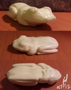 Ivory Soap Frog Carving by forlorndreamer