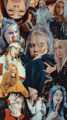 Billie has tourettes. billie has tourettes billie eilish, music wallpaper Iphone 8 Wallpaper, Music Wallpaper, Cartoon Wallpaper, Iphone Backgrounds, Wallpaper Ideas, Billie Eilish, Collage Poster, Album Cover, Cute Wallpapers