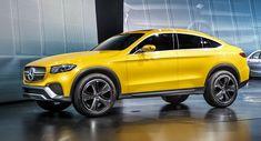 Gelb ist geil! Mercedes GLC Coupé Concept