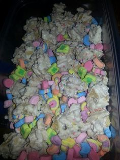 Lucky Rainbow snack mix