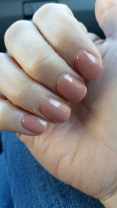 SNS nail color #59 my favorite nude color! Reminds me of OPI Dulce de leche...
