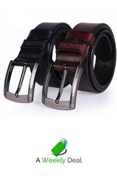 Bright Men Casual Genuine Leather Belts Black Brown Stitch Patchwork Male Belt Golden Silver Buckle Strap Ceintures Homme High Quality Goods Men's Belts