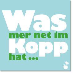 """Magnet """"Was mer net im Kopp"""" – Meine Heimat Hessen"""