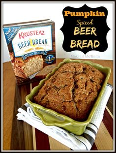 Easy Pumpkin Beer Bread, National Bratwurst Day & a GIVEAWAY {#sponsored}