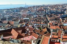 Lisbon, Portugal: The Best of the City in 2 Days - the unending journey Day Trips From Lisbon, Things To Do, Old Things, Lisbon Portugal, Old City, Capital City, San Francisco Skyline, Paris Skyline, Rome