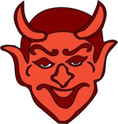 Devil Head by @j4p4n, I think that user sergSB uploads some great clipart, but it is often monolingual and not so well suited to general use. (With this one, I imagined someone could use this any time they needed to have a devil head... although, I'm not sure when that would be!) So I hope sergSB doesn't mind if I upload more general use remixes of the provided clipart, so that they can be more widely enjoyed :)