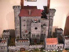 Model Castles.  Legos have nothing on these blocks...