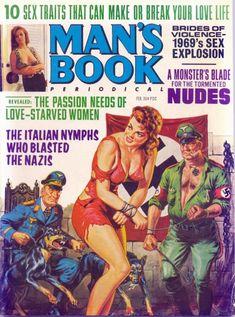 Nazis – Page 2 – Pulp Covers Pulp Fiction Art, Pulp Art, Pulp Magazine, Magazine Art, Magazine Covers, Comics Vintage, Vintage Art, Adventure Magazine, Cinema