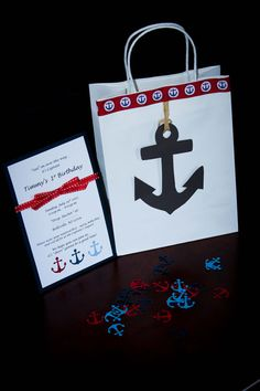 Nautical Birthday Party Pack by CraftyCoutureMommas on Etsy, $65.00