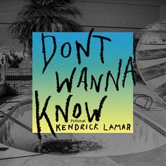 """Maroon 5 have shared their new collaboration with Kendrick Lamar, titled """"Don't Wanna Know."""" The song is now available on Apple Music. Maroon 5 will also premiere the music video… Pop Songs, Music Songs, New Music, Music Videos, Zumba Songs, Karaoke Songs, Dance Music, Music Lyrics, Play Musica"""
