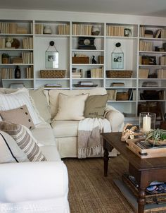 Casual Summer Living Room