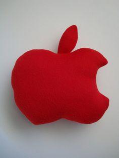 red apple cushion <3