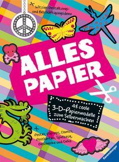 Alles Papier, £10.45 Activity Books, Book Activities, German, Children, Paper, Do It Yourself, Gifts, Deutsch, Young Children