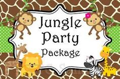 Safari themed first birthday invitation wording birthday jungle birthday invitation party decorations by onewhimsychick filmwisefo