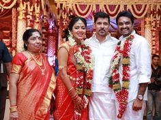 Amala Paul – Vijay Marriage Stills