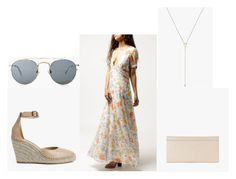 """""""Flower Power"""" by azaleasf on Polyvore featuring Loeffler Randall, Again, Crap and Building Block"""