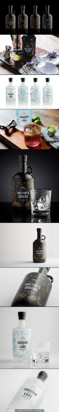 Legend Distillery by Also Known As: Packaging Design