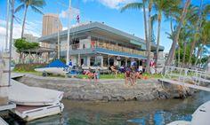 Hawaii Yacht Club, Honolulu, Hawaii, USA