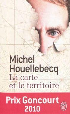 Michel Houellebecq - La carte et le territoire Document, Michel, Illustrations, My Books, Reading, Movie Posters, Romans, Shelf, Films
